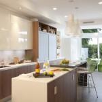 modern kitchen cabinets 16 150x150 Tủ bếp hiện đại gỗ Laminate Đức chữ L có đảo   SGHDT05