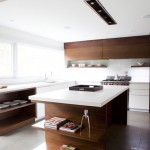 modern kitchen cabinets 20 150x150 Tủ bếp Inox dạng chữ I đơn giãn   SGIT02
