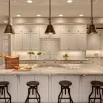 traditional kitchen cabinets 21 150x150 6 gợi ý hay cho nhà bếp gia đình theo phong thủy