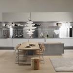 tu bep nhom 16 150x150 Tủ bếp Inox dạng chữ I đơn giãn   SGIT02